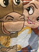 Vintage Disney Toy Story Jessie And Bullseye Quilt Duvet Cover Twin Sham And Pillow