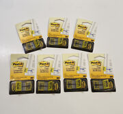 3m Post-it Flags Initial Here Yellow Lot Of 7 Packages
