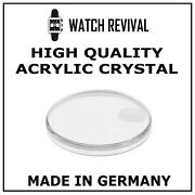 High Quality Acrylic Crystal Glass For Rolex Day-date 1807 Made In Germany
