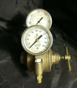 Airco 2-stage Inert Gas Regulator For Argon Nitrogen Helium Or Mixed Gases