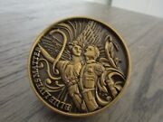 Nypd St Michael Defend Us In Battle Blue Lives Matter Challenge Coin 488b