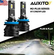Auxito Led Headlight H8 H11 Low Beam Bulb Kit Car Auto Front Headlamp 12000lm Ht