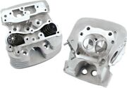 Sandamps Cycle Super Stock Cylinder Head Kit Motorcycle Engine Silver 106-3255
