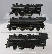 Lionel Post-war O Gauge Assorted Steam Engines [3] - Two 1061, One 242