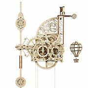 3d Wooden Puzzles For Adults And Kids Mechanical Clock Kit With Pendulum Kit