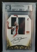 2012-13 Preferred Silhouettes Crown Royale Ray Allen Jersey Auto /49 Bgs 9 Mint