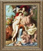 Counted Cross Stitch Kit Golden Fleece Mk-058 - The Union Of Earth And Water