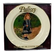 Spode Plate Royal Worcester Palissy Miniature Nib Box Petite Collection Figurine