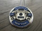 Nypd Rolling Badges Law Enforcement Motorcycle Club New York Challenge Coin 742b