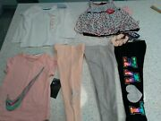 New Lot Of 6 Girls Size 2t Nike/cat And Jack/nannette/ Limited Too Mixed Clothing