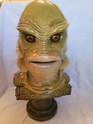 Sideshow 11 Scale Creature From The Black Lagoon Life Size Bust Statue Figure