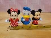 Fisher Price Little People Mickey And Minnie Mouse And Donald Duck
