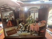 Rare 1940andrsquos Buckeye Beer Lithograph Sign 20andrdquowx15 1/2andrdquoh