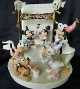 Lenox 'mickey's Surprise Party' - 75th Anniv.large Figurine Limited Mint Condit.