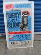 Bobby Blue Bland Poster Crown Price Of The Blues Houstontexas Vintage Orig.