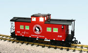 Usa Trains R12175 G Great Northern Center Cupola Caboose Red