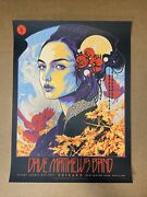Dave Matthews Band Poster N1 Chicago, Il Northerly Island 8/6/2021 Ken Taylor