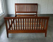 Ethan Allen American Impressions Queen Bed 24-5640-5 224 Autumn Cherry Finish