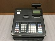 Sharp Xe-a23s Cash Register - Tested And Working - Factory Reset - Fair Condition