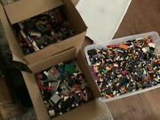 Lego Legos 40 Lb Pounds Mixed Parts Figures Technic Star Wars City Heroes20yrs