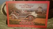 Rare Vintage Budweiser Beer Bevo Mill The Beverage Cardboard Sign Army And Navy