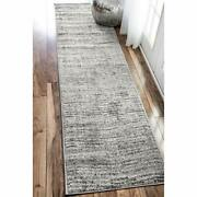 Nuloom Sherill Ripple Modern Abstract Runner Rug 2and039 Assorted Sizes Colors
