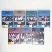 The West Wing Complete Season 1 To 7 Dvd Tv Series Free Postage Region 4 Aus