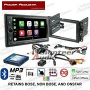 Power Acoustik Cp-650 Double Din Car Stereo Radio Dash Install Kit