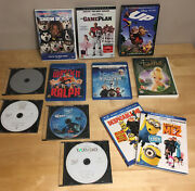 Disney Blu-ray Dvd Lot Plus Despicable Me 1 And 2 Up Frozen Nemo Dumbo Tinker Bell