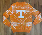 Tennessee Volunteers Campus Specialities Orange/white Christmas Sweater-adult M