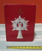 Heavenly Lladro 6501 Angel Of The Light Tree Topper-excellent/mint W/ O.b.