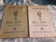 Antique Lot Of 2 Telephone Directory Phone Books For Kentucky 1949 1950