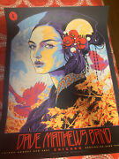 Dave Matthews Band Poster Chicago, Il Northerly Island 8/6/2021 Ken Taylor Mint