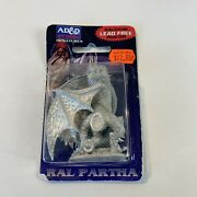 New Adandd 2nd Edition Ral Partha Pewter Miniatures Red Dragon 11-577 Dungeons Dandd