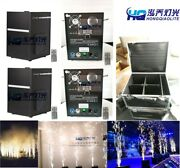 4pcs 650w Mini Cold Spark Fountain Fireworks Machine With Case Freeshipping