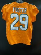29 Arian Foster Miami Dolphins Game Used Team Issued Orange Color Rush Jersey