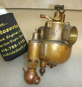 1 Krice Carburetor With Throttle Old Boat Car Tractor Gas Hit And Miss Engine