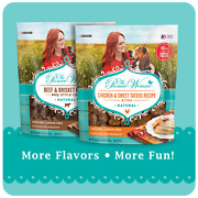 The Pioneer Woman Grain Free, Natural Dog Treats, Beef And Brisket Recipe..+