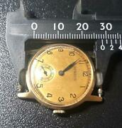 Benlas 14k Gold Solid Military Wristwatch