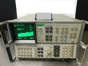 Hp 8566a Spectrum Analyzer With Display And Interface Cable