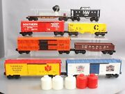Lionel Mpc O Gauge Freight Cars 6-9182, 6-9700, 6-9763, 6-9413, 6-9302 [8]
