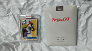 Topps Project 70 Artist Proof Card 42 Jackie Robinson / Futura Ap Project70