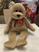 Ty Beanie Baby 1999 Signature Teddy Bear With Errors ❄️mint Rare Must See