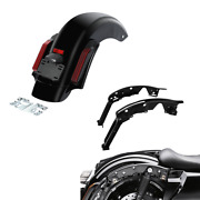 Rear Fender Led Light And Support Fit For Harley Electra Road Glide 2014-2021 18