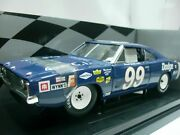 Wow Extremely Rare Dodge Charger 500 99 P. Goldsmith Nascar 1969 118 Rc2 Ertl