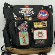 Vintage Indianapolis Indy 500 200 Racing Race Classic Patches On Backpack