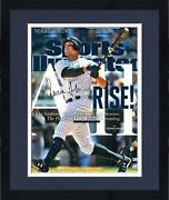 Frmd Aaron Judge Yankees Signed 16 X 20 All Rise Sports Illustrated Photo