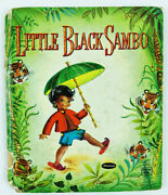 Little Sambo Hardcover Tell-a-tale Whitman 1950 Illustrated Suzanne Black