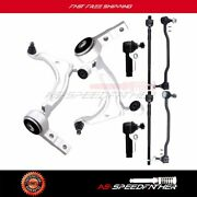 Fit For 2004-2008 Nissan Altima Control Arm Ball Joints Sway Bar Tie Rod 8pcs
