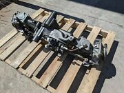Used John Deere X728 X748 Front Axle Mia10710 Auc12394 S/n 40001 And Up